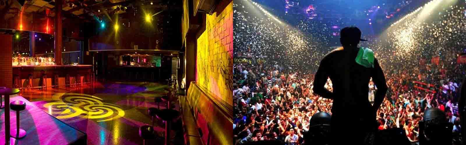 Party to the fullest at Nightclub Bikini