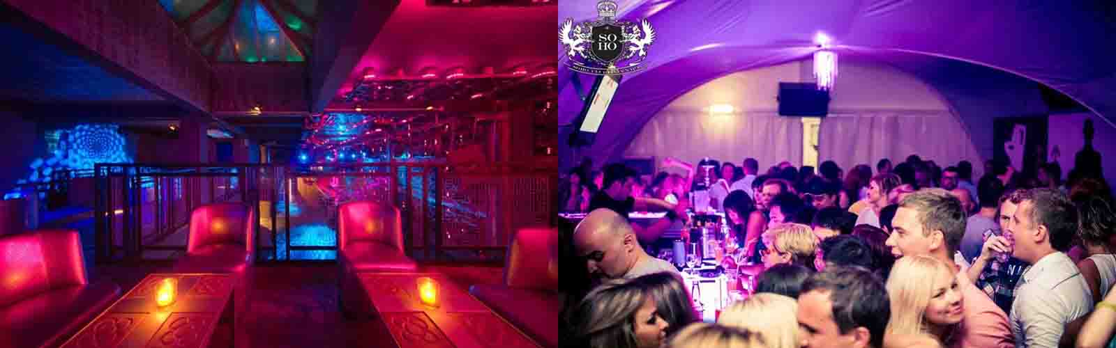 A great night out with your friends at Nightclub Soho