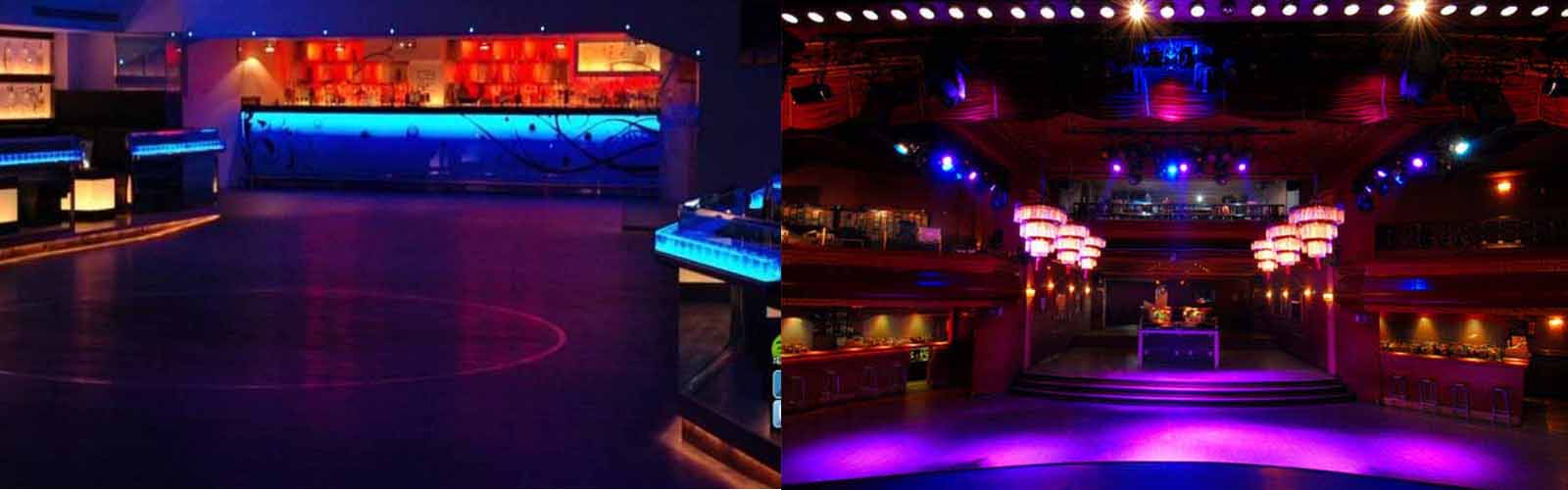 Experience a special night out at Nightclub Luz de Gas