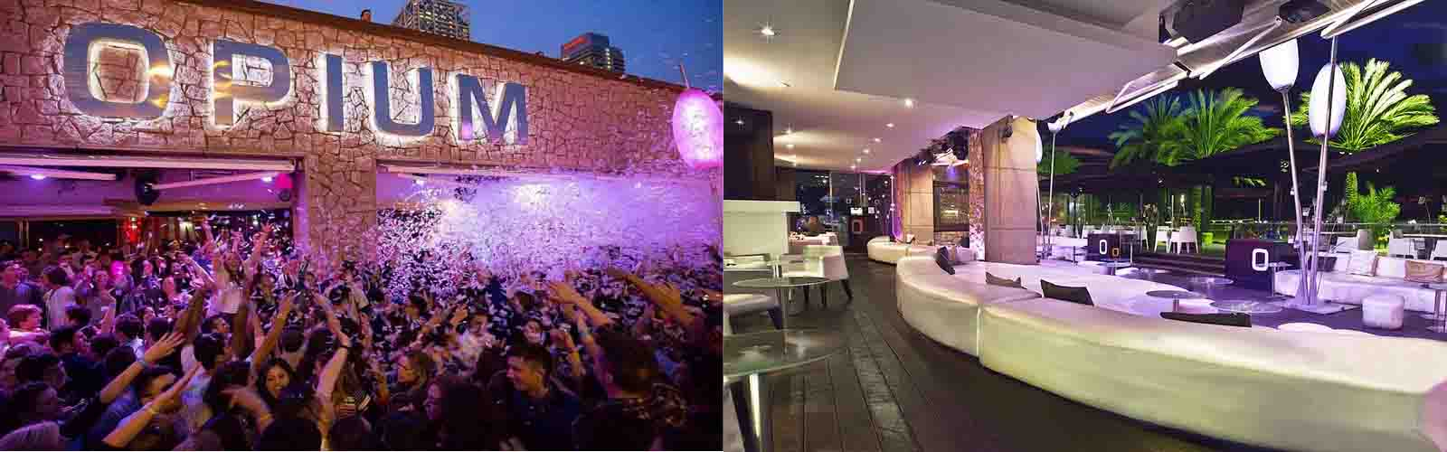 Party at this well known venue, Nightclub Opium Barcelona