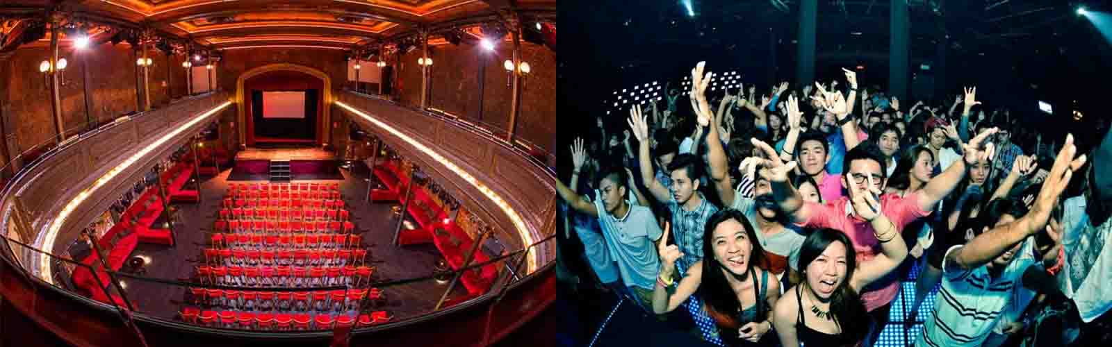 Dance in this mysterious nightclub Sala B