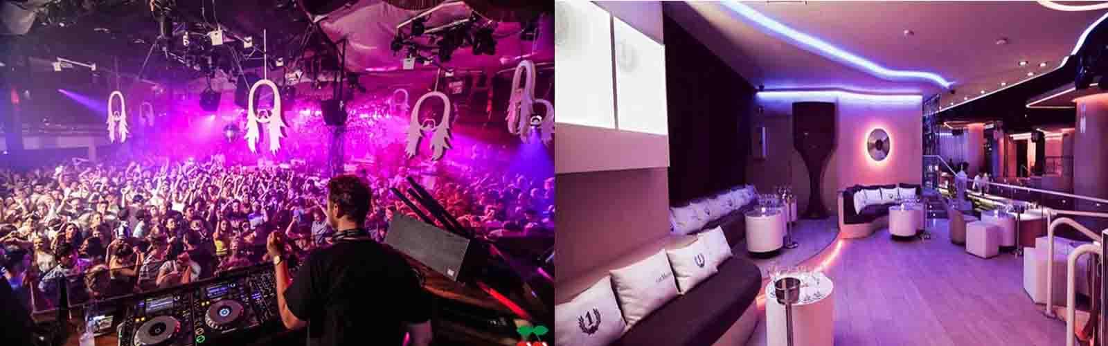 Nachtclub Pacha en van de beroemdste nachtclubs ter wereld