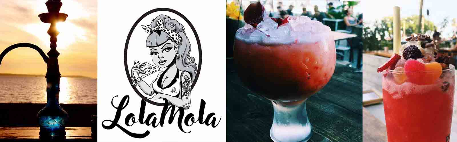 Drink and Laugh near the beach at Lola Mola