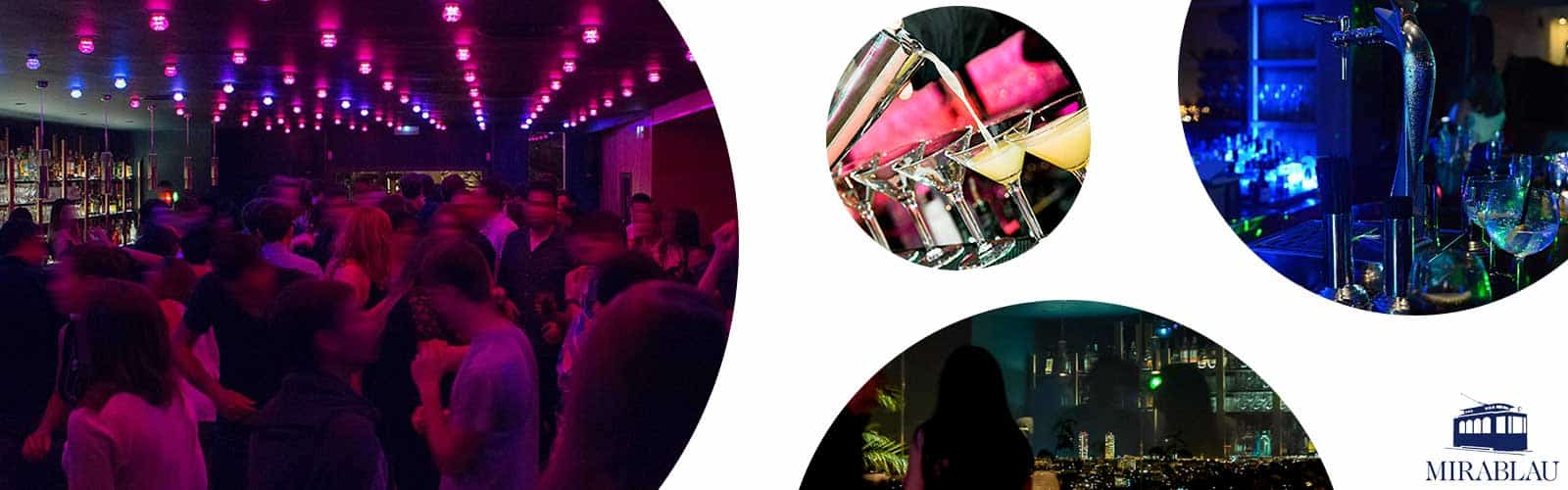 Nachtclub Mirablau Barcelona
