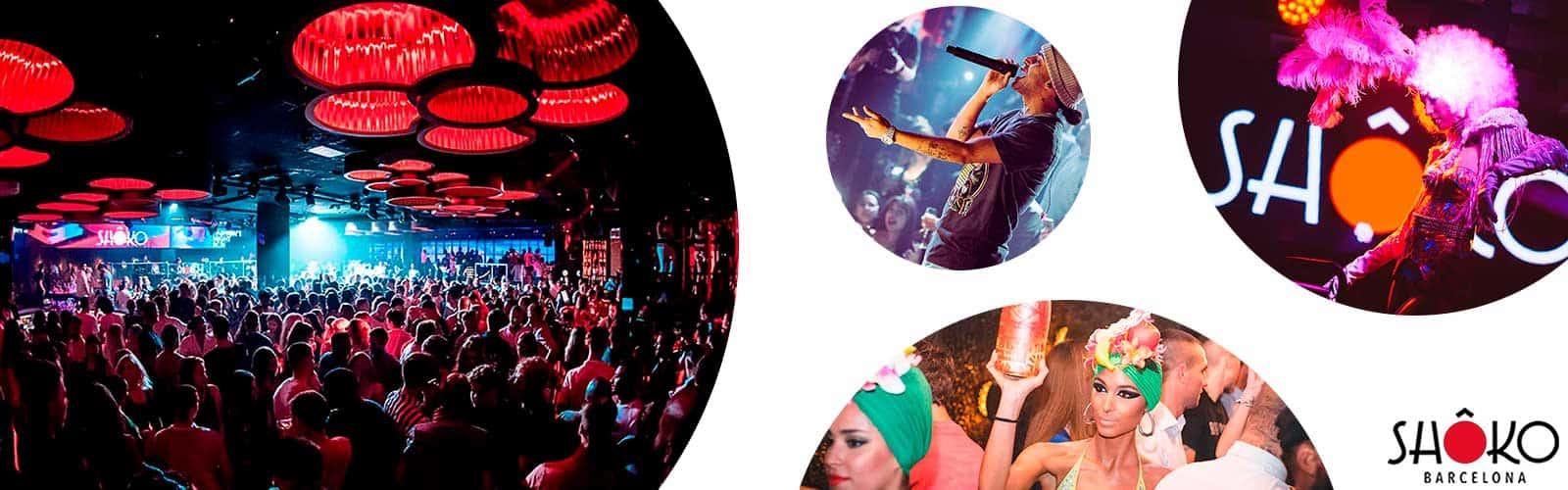 Discoteca Shoko Barcelona